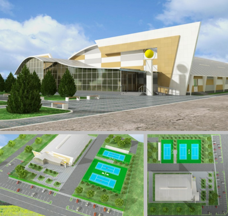 TENNIS CENTER KOKSHETAU, KAZAHSTAN